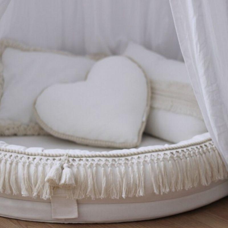 Boho junior nest details - Speelnest - voorleeshoek - speelhoek BabyRace - Cotton & Sweets