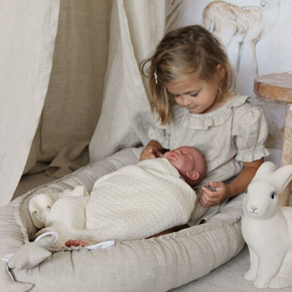 puur natuur babynestje cotton and sweets - babyrace