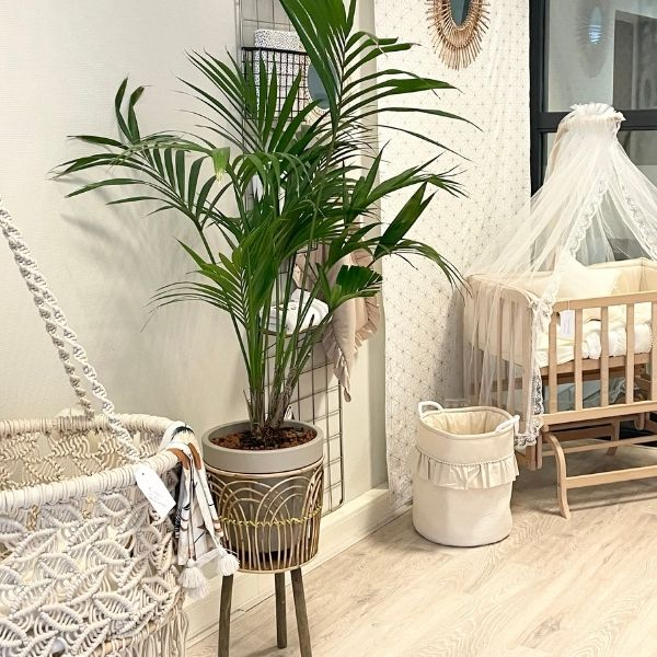 babykamer in boho stijl